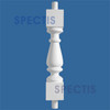 """BAL2025-23 Urethane Baluster or Spindle 4 1/2""""W X 22 7/8""""H"""