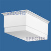 "BL2401 Spectis Eave Block or Bracket 9.25""W x 6""H x 15"" Projection"