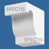 "BL2408R-10/12 Spectis Eave Block or Bracket 5""W x 7""H x 7.75"" Projection"
