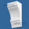 "BL2412R-8/12 Spectis Eave Block or Bracket 7""W x 14""H x 5.5"" Projection"