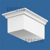 """BL2416L-12/12 Spectis Eave Block or Bracket 5""""W x 3""""H x 8"""" Projection"""