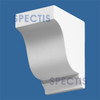 "BL2424L-7/12 Spectis Eave Block or Bracket 4""W x 6""H x 6"" Projection"