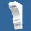 """BL2426 Spectis Eave Block or Bracket 3.5""""W x 10""""H x 5.25"""" Projection"""