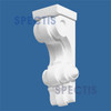 """BL2428 Spectis Eave Block or Bracket 3.5""""W x 8.75""""H x 3.5"""" Projection"""