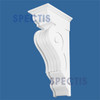 """BL2429 Spectis Eave Block or Bracket 11""""W x 35""""H x 17.5"""" Projection"""