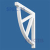 """BL2434 Spectis Eave Block or Bracket 1""""W x 12""""H x 12"""" Projection"""