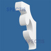 """BL2437 Spectis Eave Block or Bracket 2.5""""W x 15.5""""H x 11"""" Projection"""