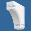 "BL2438 Spectis Eave Block or Bracket 3.5""W x 9""H x 9"" Projection"
