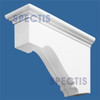 "BL2439 Spectis Eave Block or Bracket 6.5""W x 12.5""H x 22"" Projection"