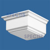 "BL2443 Spectis Eave Block or Bracket 5""W x 2.5""H x 4.75"" Projection"