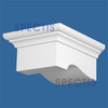 "BL2796R-10/12 Pitch Corbel or Eave Bracket 9.3""W x 5.1""H x 11.5"" P"