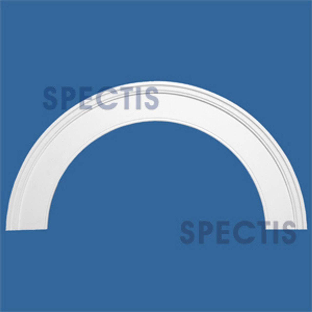 "AT1025-76 Arch Circle Top 5.5"" Wide - Fits 76"" Opening"
