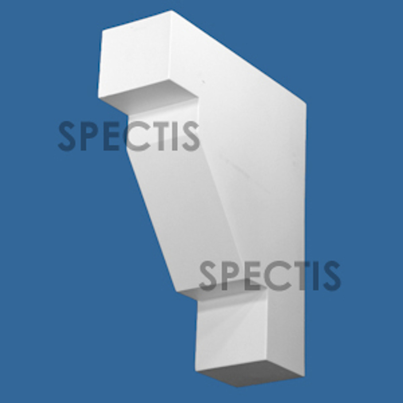 """BL2977 Spectis Eave Block or Bracket 3.5""""W x 10.25""""H x 12.5"""" Projection"""