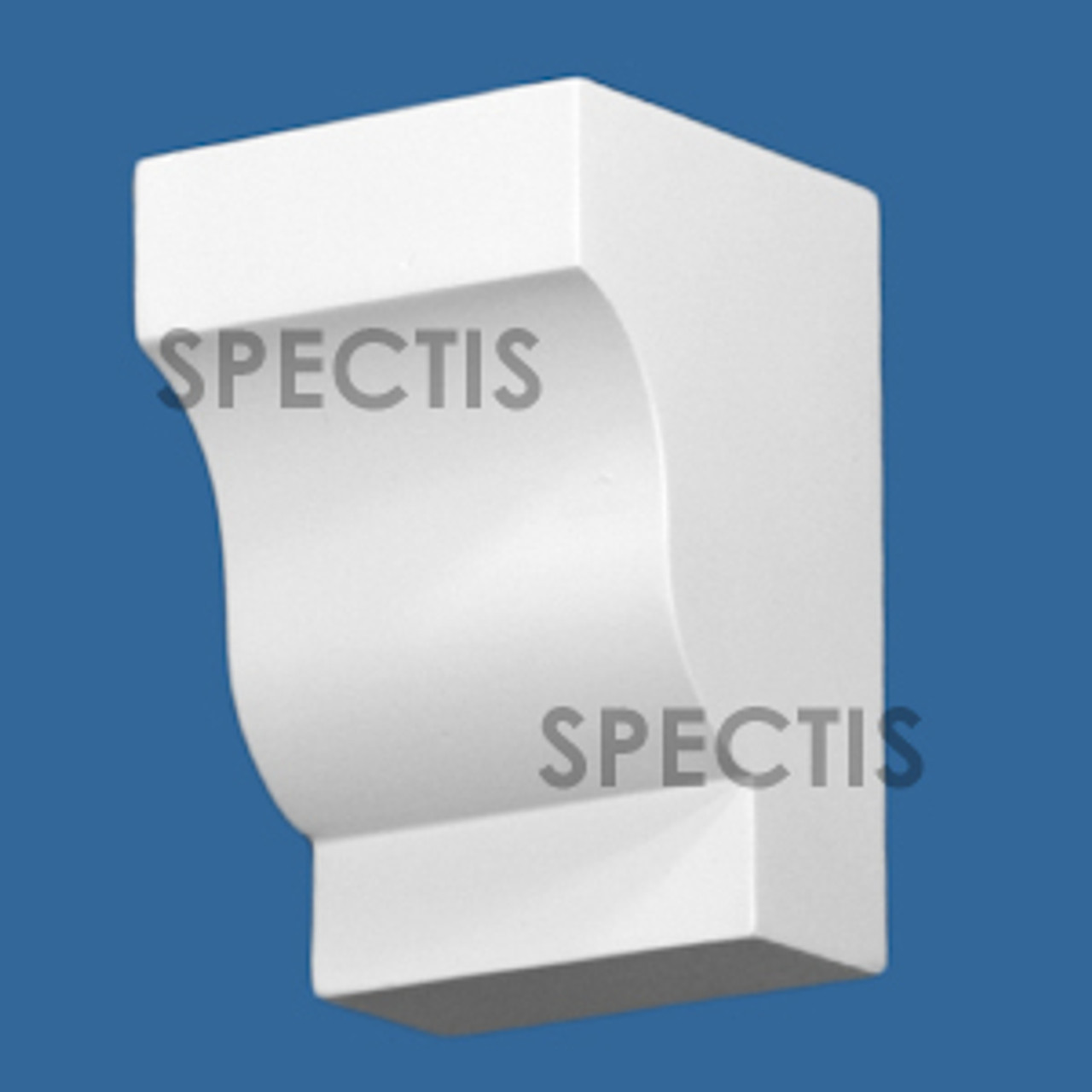 """BL2986 Spectis Eave Block or Bracket 3.5""""W x 5.25""""H x 3.56"""" Projection"""