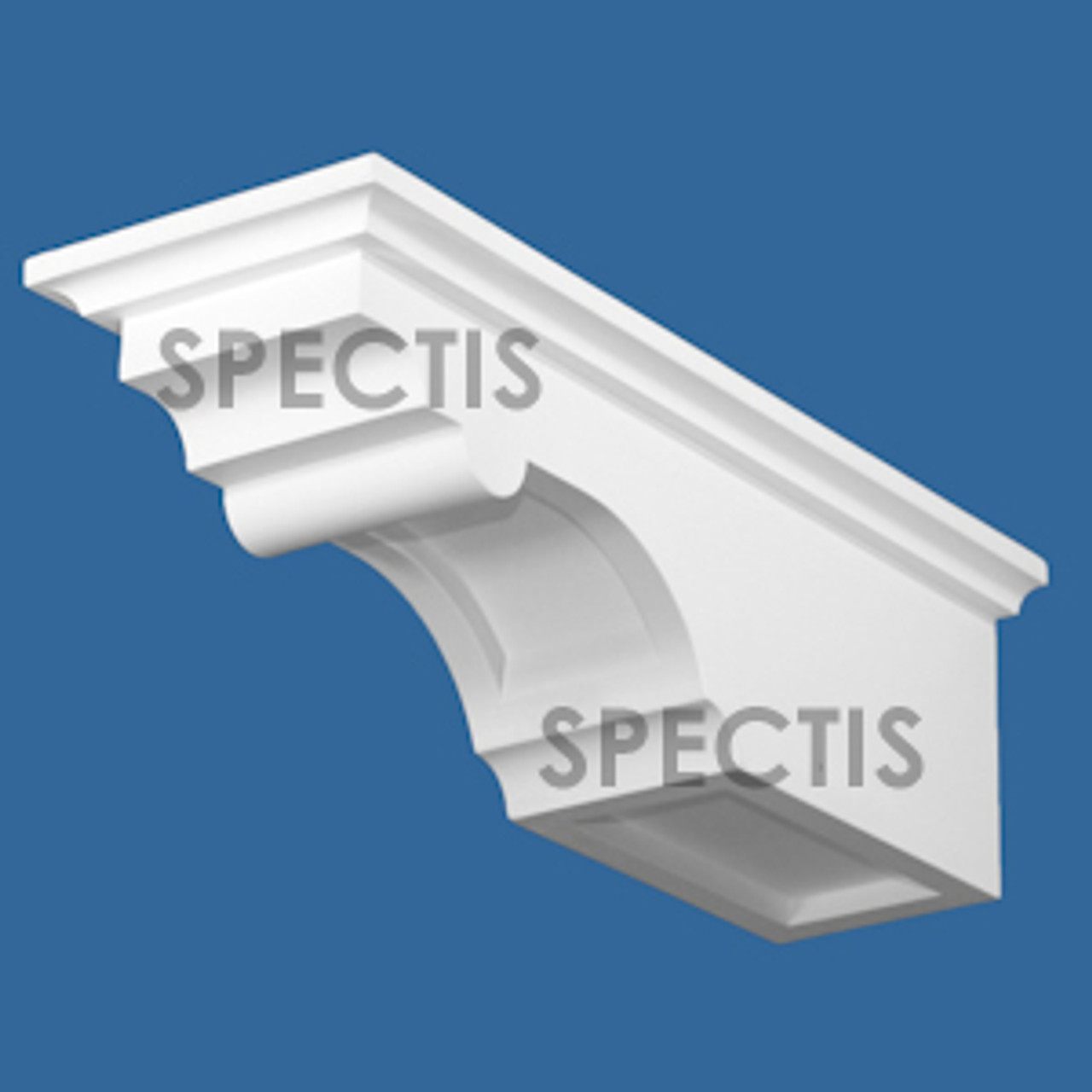 "BL3044 Spectis Eave Block or Bracket 5.63""W x 15.88""H x 5.13"" Projection"