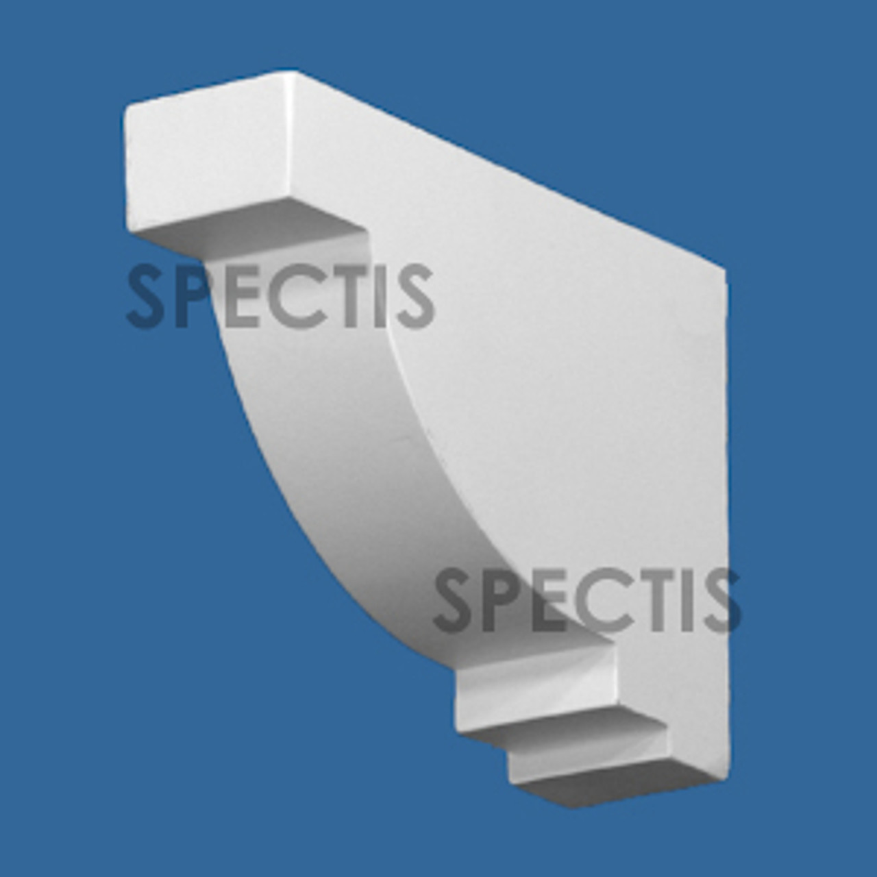 """BL3059 Spectis Eave Block or Bracket 1.5""""W x 4.25""""H x 6.13"""" Projection"""