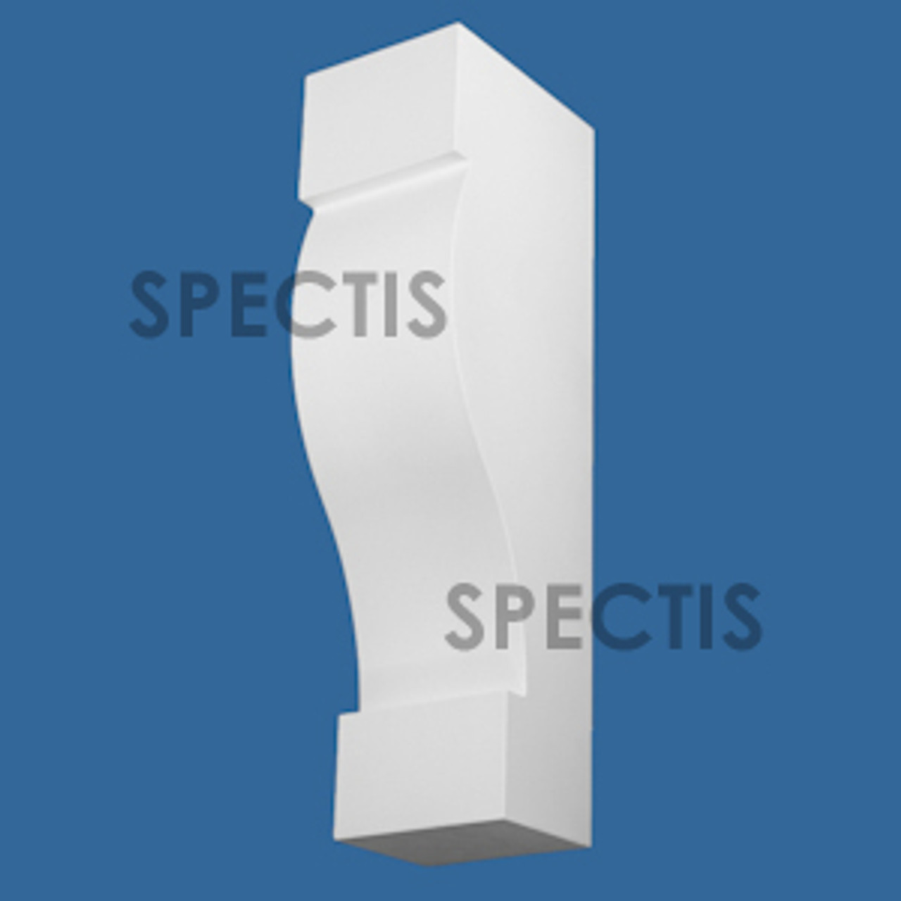 """BL3068 Spectis Eave Block or Bracket 6""""W x 24""""H x 8"""" Projection"""