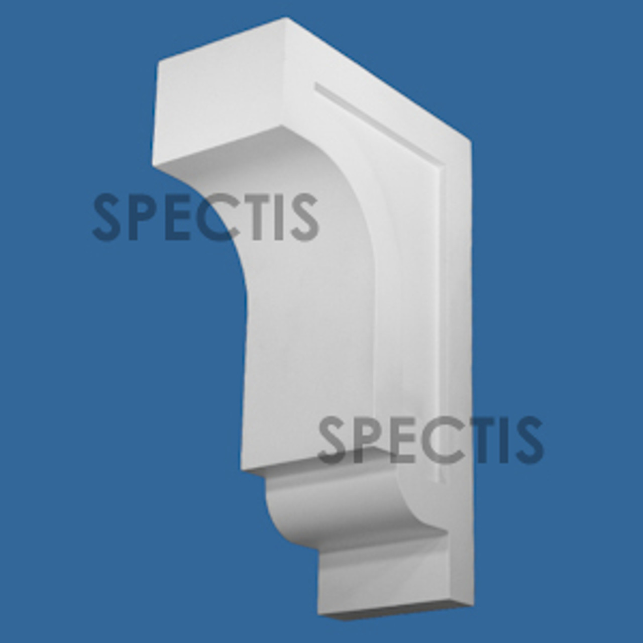 """BL3074 Spectis Eave Block or Bracket 7""""W x 22""""H x 14"""" Projection"""