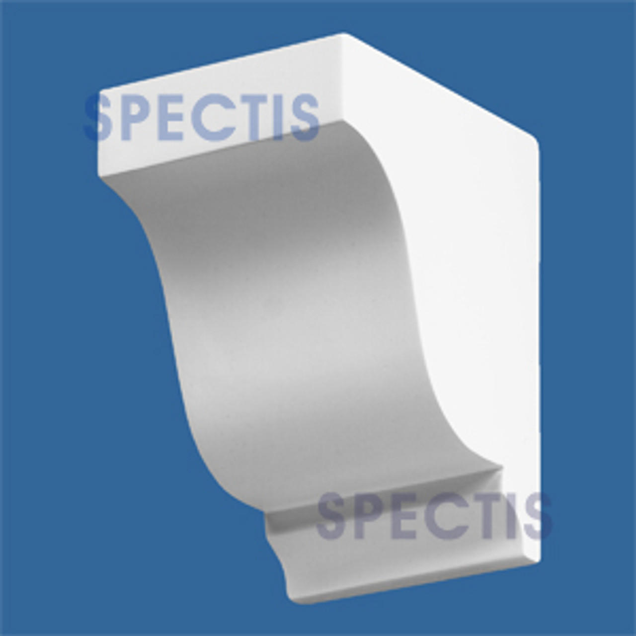 """BL2424R-7/12 Spectis Eave Block or Bracket 4""""W x 6""""H x 6"""" Projection"""