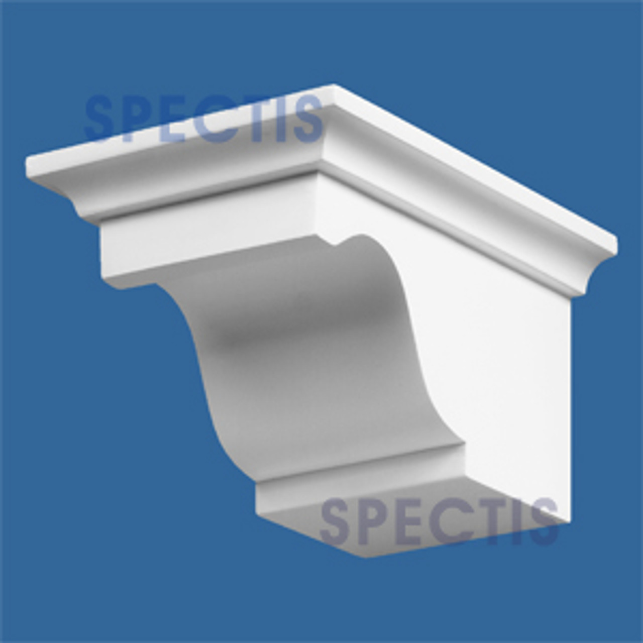 """BL2444R-8/12 Spectis Eave Block or Bracket 5""""W x 4""""H x 8"""" Projection"""