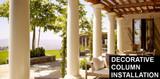 How to Install Decorative Spectis Columns