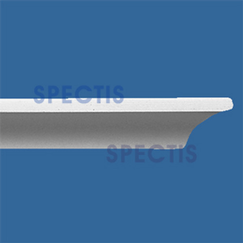 "MD1131 SPLIT Spectis Crown Molding Nose Trim 1""P x 1""H x 144""L"