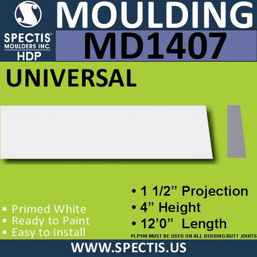"MD1407 Spectis Window Sill Trim 6""P x 16""H x 144""L"