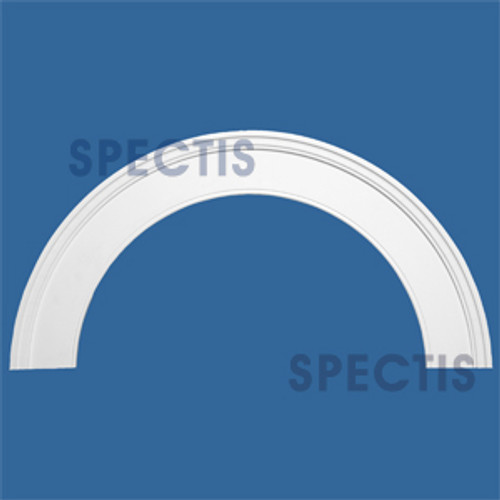 "AT1025-21 Arch Circle Top 5.5"" Wide - Fits 21"" Opening"