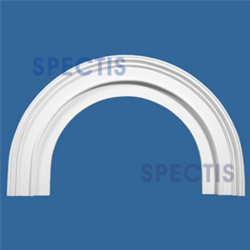 """AT1144-21 Arch Circle Top 5.5"""" Wide - Fits 21"""" Opening"""