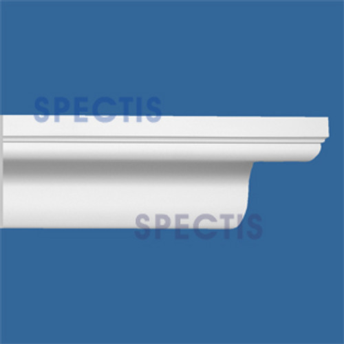 "MD1768 Spectis Crown Molding Cap Trim 4 5/8""P x 5 9/16""H x 144""L"