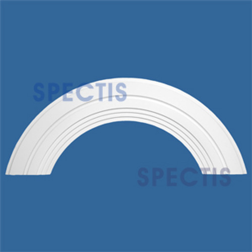 "AT1365-28 Arch Circle Top 10"" Wide - Fits 28"" Opening"