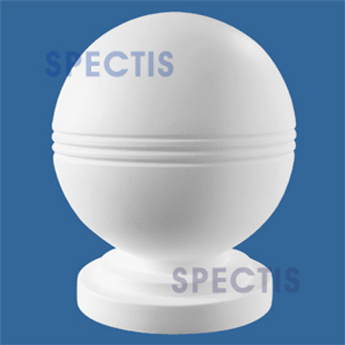 "BA4KN Urethane Ball for Newel Post Cap 4"" Wide"
