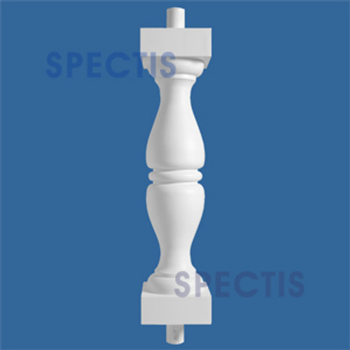 """BAL201329 Urethane Baluster or Spindle 7""""W X 29""""H"""