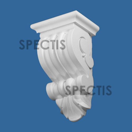 """BL3048 Spectis Eave Block or Bracket 7.5""""W x 13.25""""H x 5.5"""" Projection"""