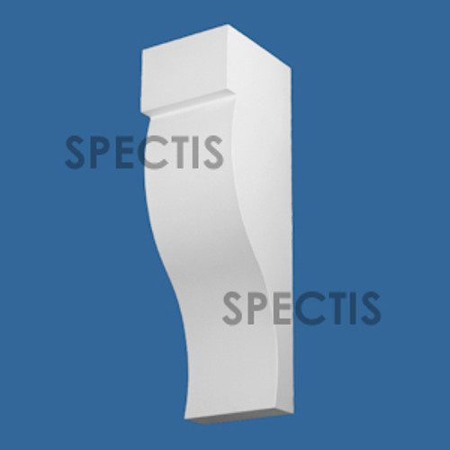 "BL3063 Spectis Eave Block or Bracket 8""W x 21""H x 6.75"" Projection"