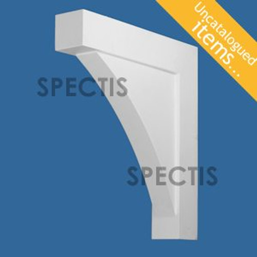 "BL3015 Spectis Eave Block or Bracket 4""W x 24""H x 22"" Projection"