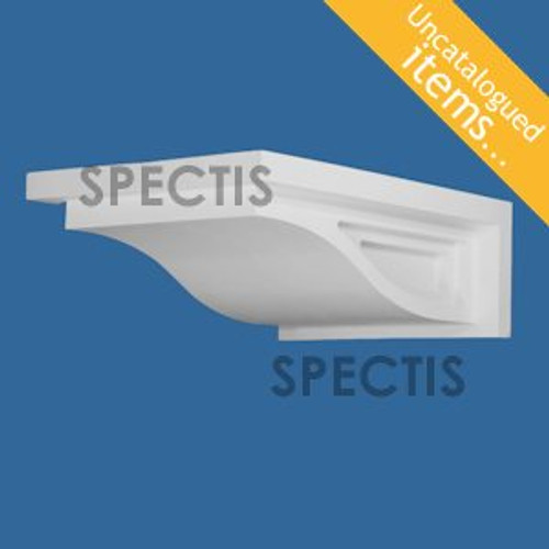 "BL3023 Spectis Eave Block or Bracket 16""W x 8""H x 24"" Projection"