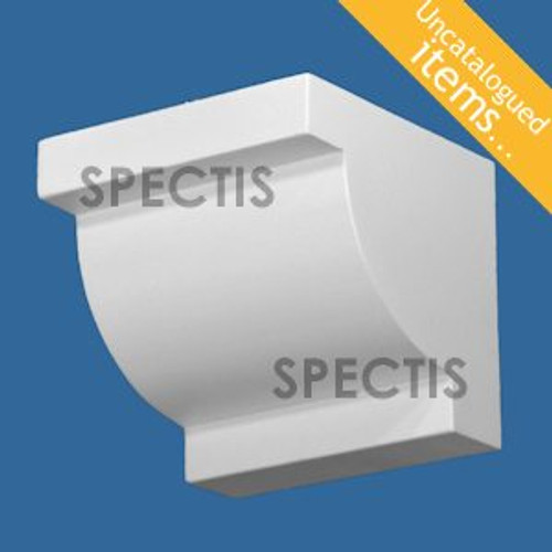 """BL3032 Spectis Eave Block or Bracket 5.5""""W x 5""""H x 5.5"""" Projection"""