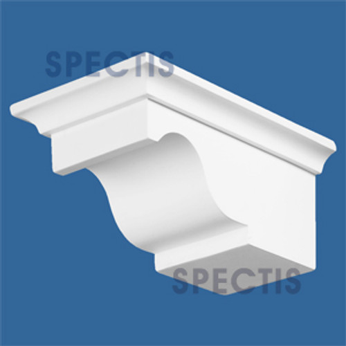 "BL2404L-5/12 Spectis Eave Block or Bracket 5""W x 3.5""H x 7.75"" Projection"
