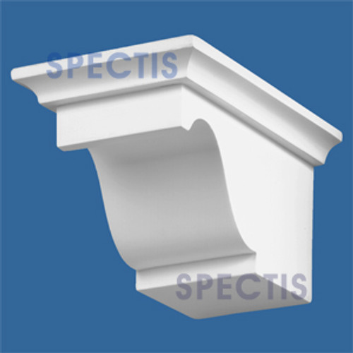 "BL2469R-7/12 Pitch Corbel or Eave Bracket 4.75""W x 4""H x 7"" P"