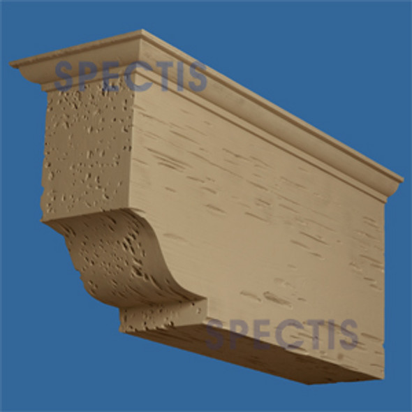 "BL2897PC Corbel or Eave Bracket 13.5""W x 20.25""H x 43.25"" P"