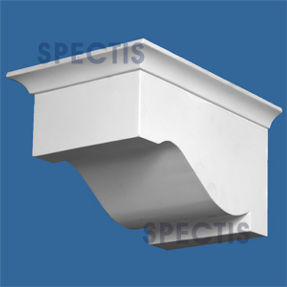 "BL2929L-6/12 Pitch Corbel or Eave Bracket 6.5""W x 8.75""H x 9.75"" P"