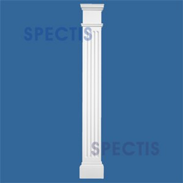 """FP7248P 6 5/8"""" x 48"""" Urethane Fireplace Pilasters Sides"""
