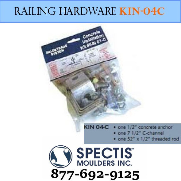 KIN 04-C Concrete Anchor Hardware