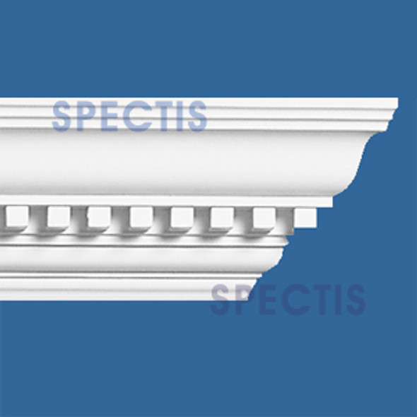 "MD1022 Spectis Crown Molding Dentil 4 1/4""P x 4 3/4""H x 144""L"