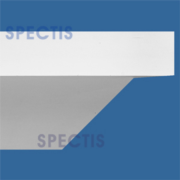 "MD1280 Spectis Crown Molding 19 3/4""P x 15 1/4""H x 144""L"