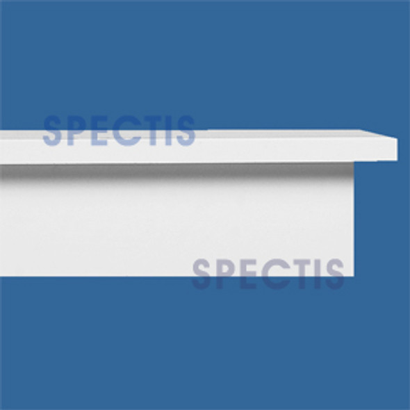"MD1394 Spectis Molding Back Band Trim 3""P x 6 1/4""H x 168""L"
