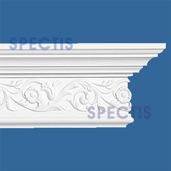 "MD1467 Spectis Crown Molding Trim 2 11/16""P x 5 1/2""H x 144""L"