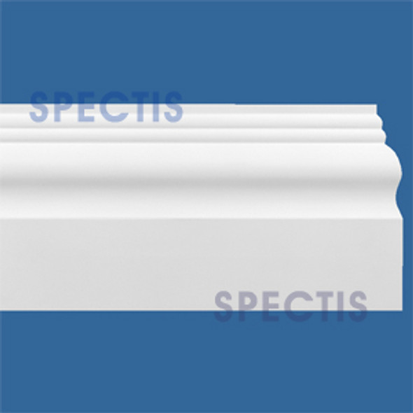 "MD1503 Spectis Molding Base Trim 1""P x 5 1/2""H x 144""L"