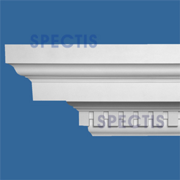 "MD1701 Spectis Crown Dentil Trim 16 7/8""P x 19 7/8""H x 144""L"